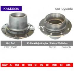 KAM3006 Saf Uyumlu 2307105400 16 Ton Porya Wheel Hub
