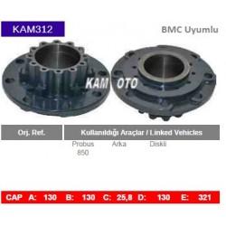KAM312 Bmc Uyumlu Probus Arka Diskli Tip porya Wheel Hub