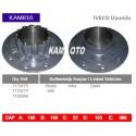 KAM816 Iveco Uyumlu 7179775 7179777 7186804 Stralis 480 Arka Diskli Tip Porya Wheel Hub