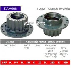 KAM908 Ford Cargo Uyumlu 1838T Arka Porya