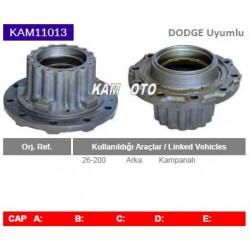 KAM11013 Dodge Chrysler Uyumlu 26200 Arka Porya Wheel Hub