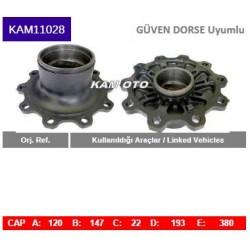 KAM11028 Güven Uyumlu Porya Wheel Hub