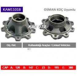 KAM11018 Osman Koç Uyumlu K1 Porya Wheel Hub
