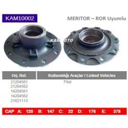 KAM10002 Arvin Meritor ROR Uyumlu 21204561 21204562 14204561 14204562 21021113 Pilot Porya Wheel Hub