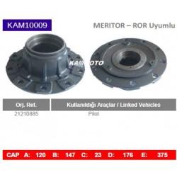 KAM10009 Arvin Meritor ROR Uyumlu 21210885 Pilot Porya Wheel Hub