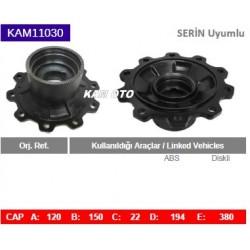 KAM11030 Serin Uyumlu Diskli Tip Porya Wheel Hub