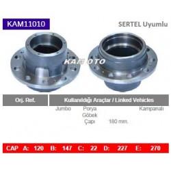 KAM11010 Sertel Uyumlu Jumbo Porya Wheel Hub