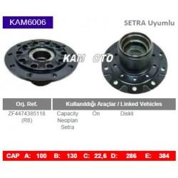 KAM6006 Setra Neoplan Capacity Uyumlu ZF4474385118 On Diskli Tip Porya