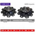 KAM11031 Serin Uyumlu Dorse Kampanalı Tip Porya Wheel Hub  804708