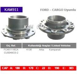 KAM911 Ford Cargo Uyumlu FC461116CA  4136 Arka Porya Wheel Hub