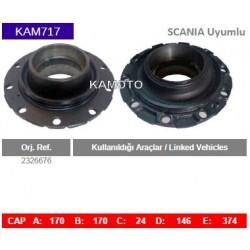 KAM717 Scania Uyumlu 2326676 Porya Wheel Hub